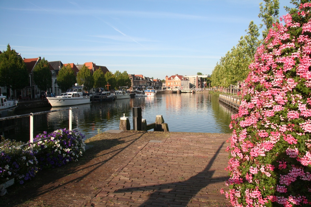Weesp - One summer morning 2009