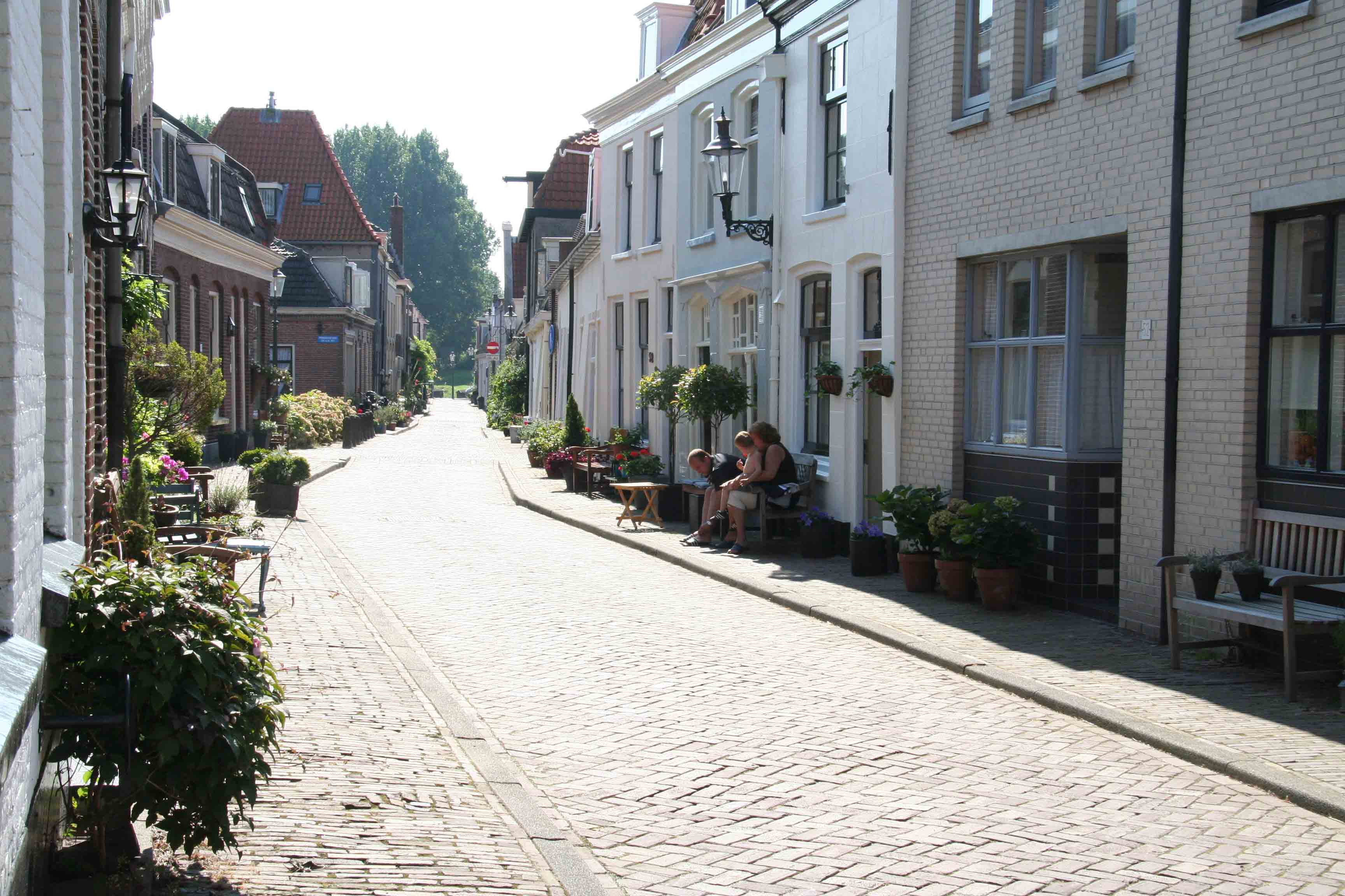 Photo from the old part of Weesp