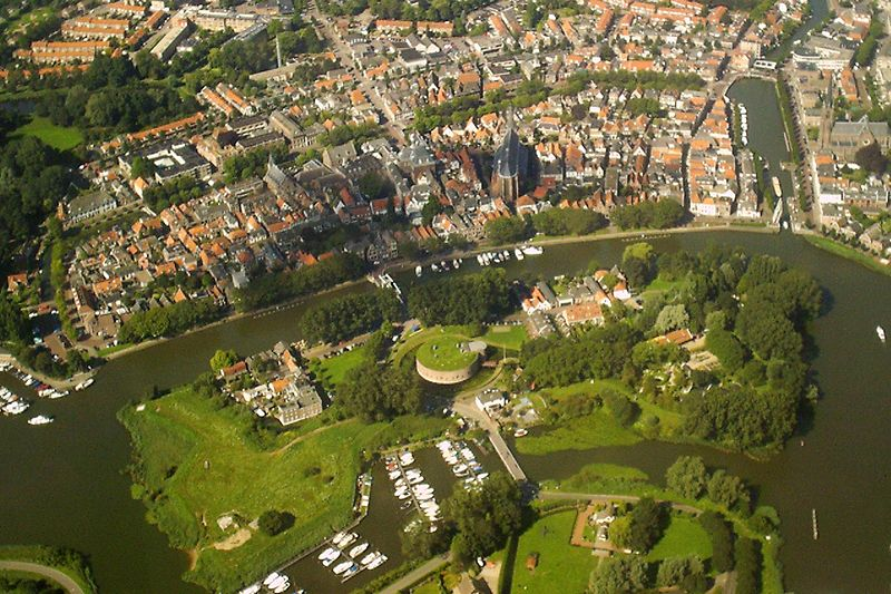 AiR Photo Of The Old Part Of Weesp